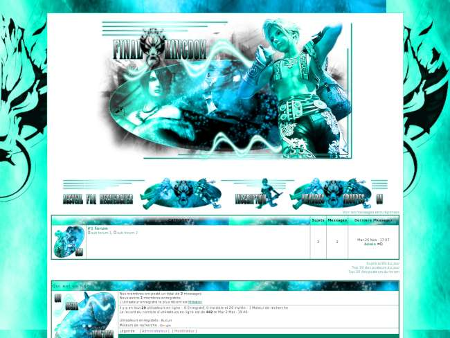 Final kingdom turquoise
