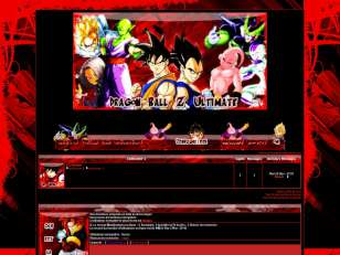 Dragon ball z dark red