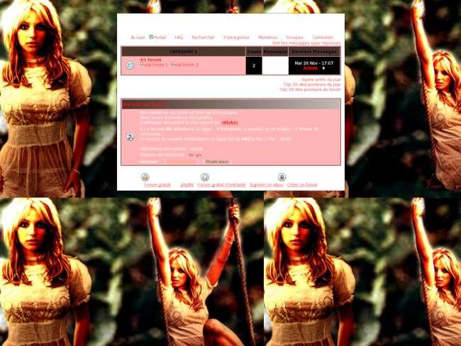 Britney bande