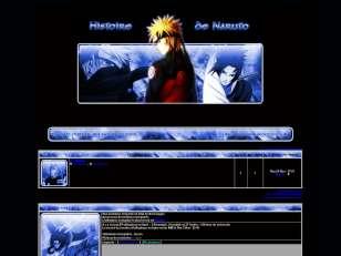 Naruto history bleu