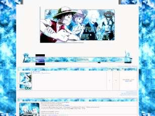 Thème one piece bleu