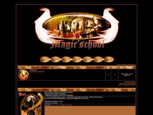 Magic'school