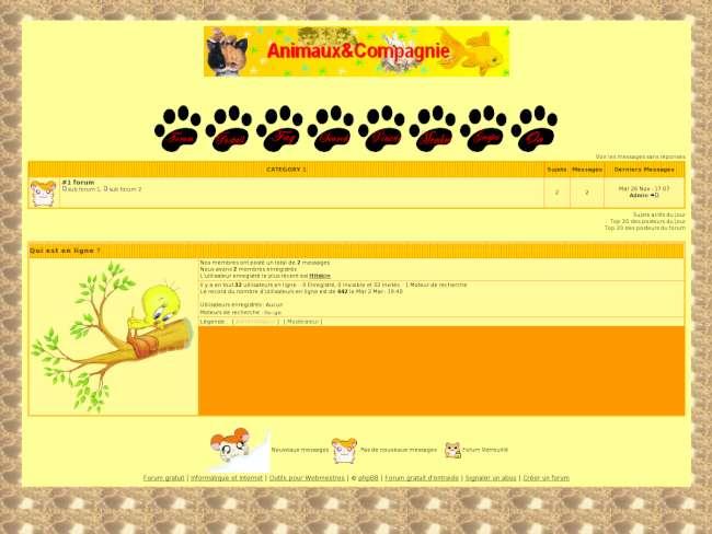 animaux et compagnie