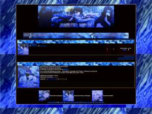Naruto fight bleu