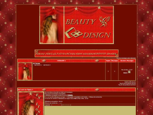 Créations beauty design