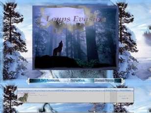 Loups evasion