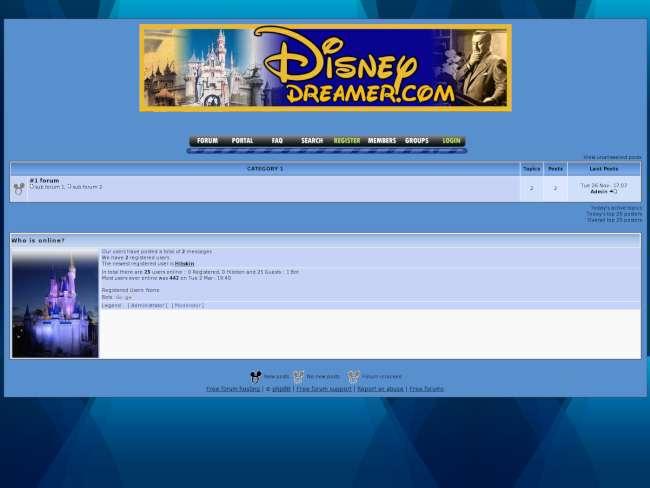 Disneydreamer