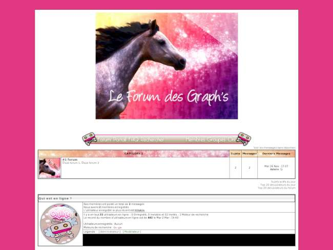 Thème cheval / graphisme