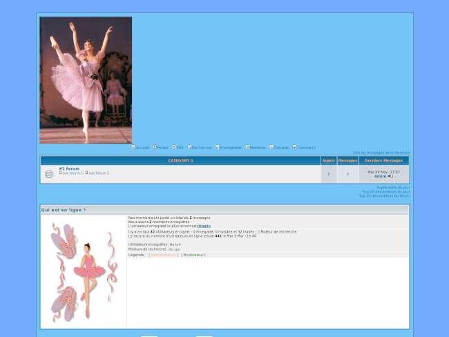 Ballet Bleuté