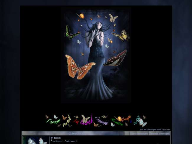 Butterfly dream color