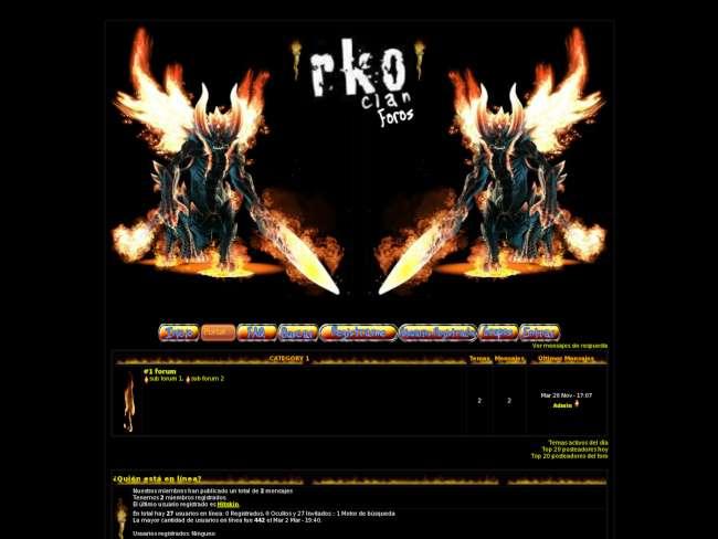 Rko clan skin