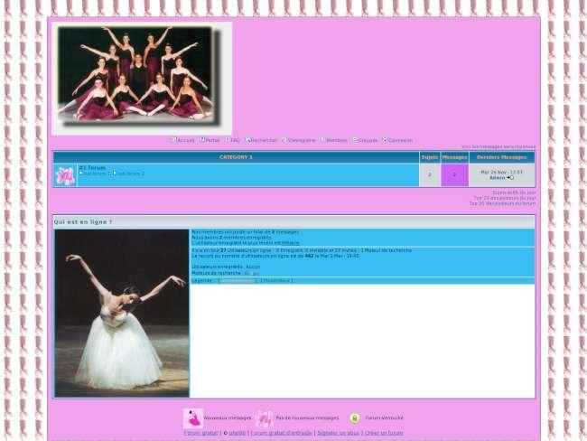 Danse Ballet Passion