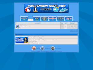 Club Penguin [Blue Skin]