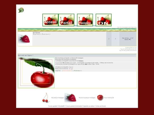 Fruits d'ete