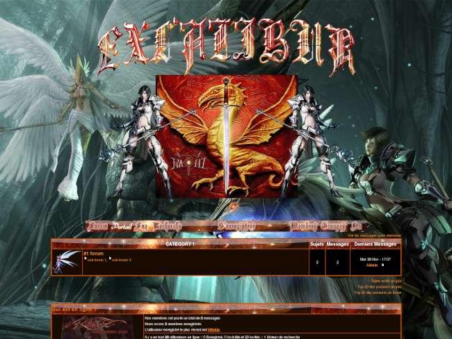 Excalibur - rappelz