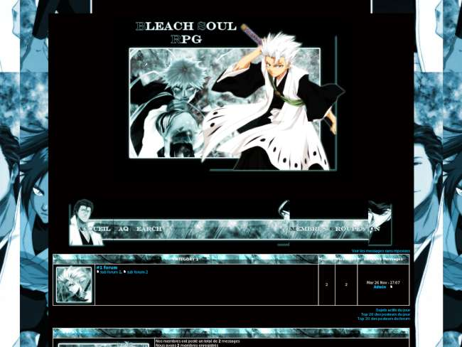 Soul bleach rpg