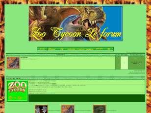 Zoo tycoon : le forum