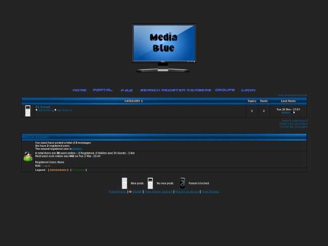 Media blue