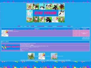 Webkinz Page