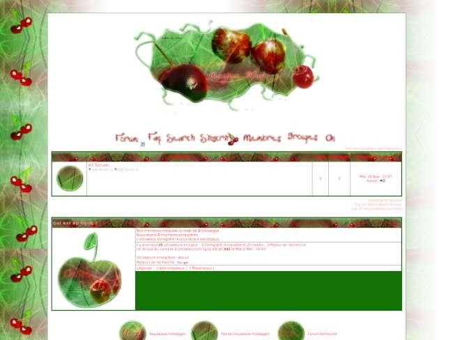 Thème cherry