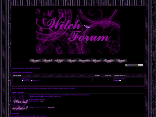 Witch-forum