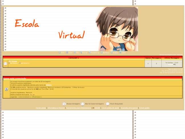 Escola virtual go foeum