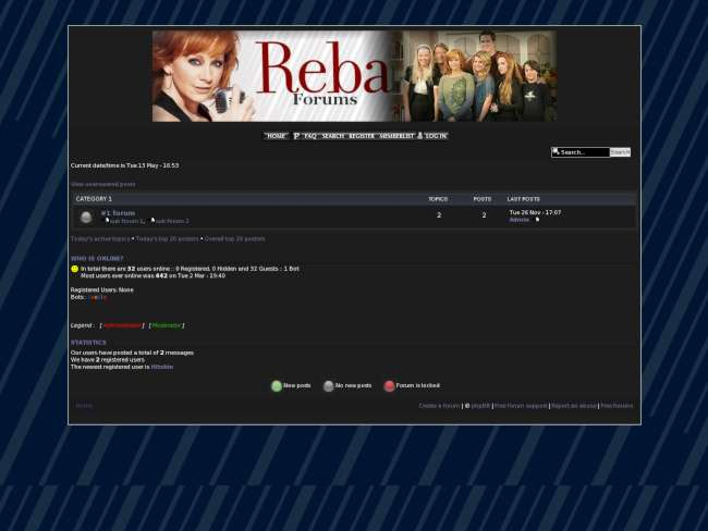 Reba network forums