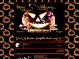 Nintendo zone halloween