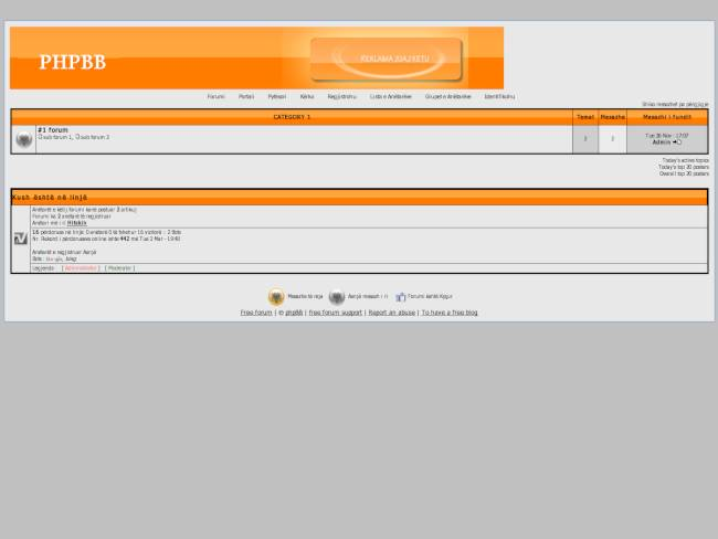 Default Beta Orange per Phpbb2