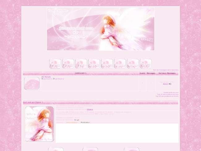 Pink angel manga
