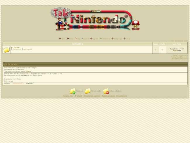 Nintendo Talk