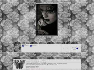 femme en noir gris