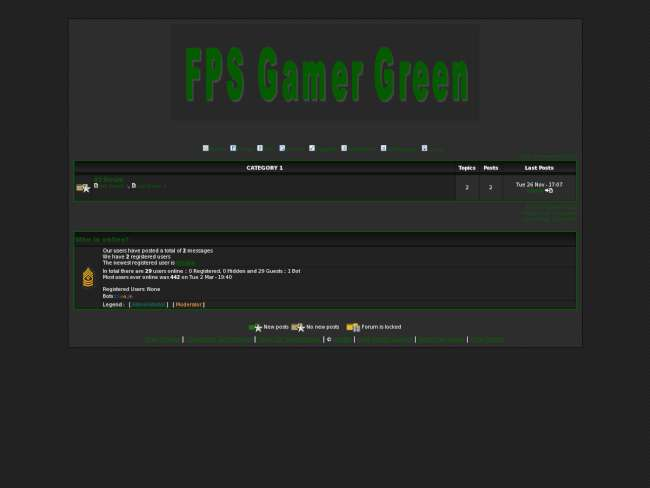 Fps gamer green