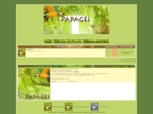 Papagei-thème