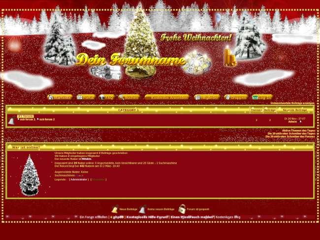 christmas-X  phpBB2