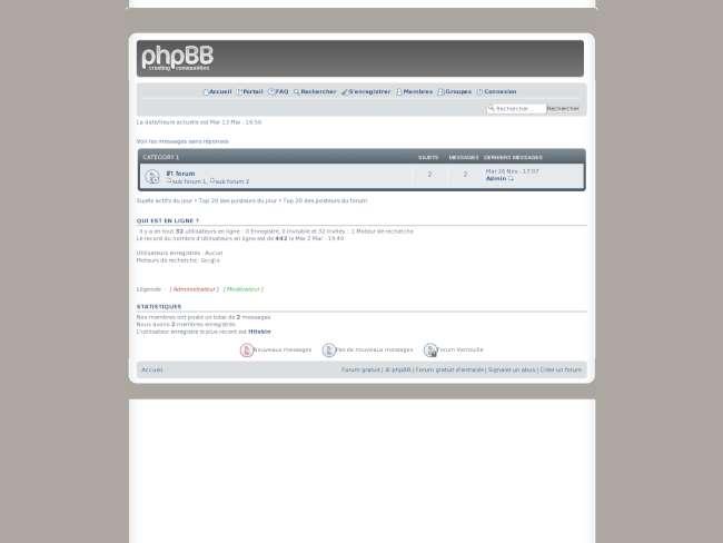 Pngbb : full phpbb (ve...