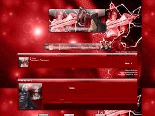 Naruto Shippuden rouge