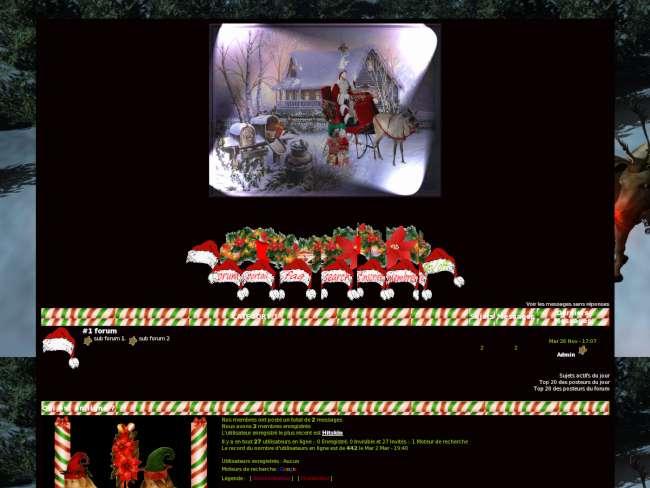 Noel et son sucre d'orge