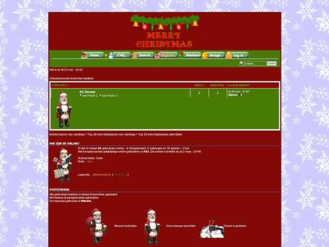 Christmas skin 2008, v.2