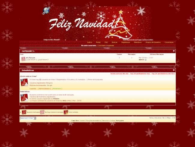 Feliz Navidad - Invision (Concurso HitSkin)