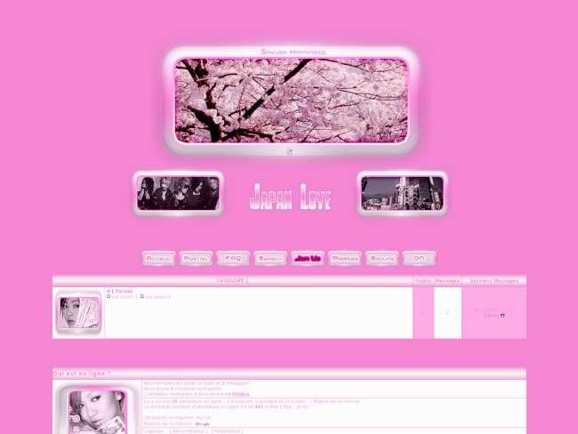 Japan pink