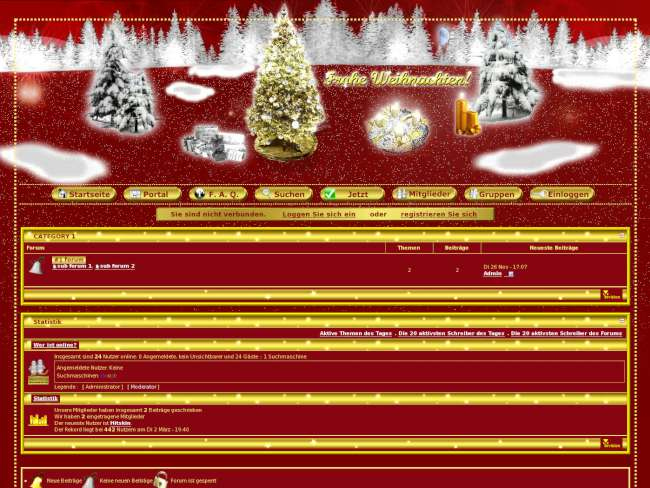 christmas-X Invision