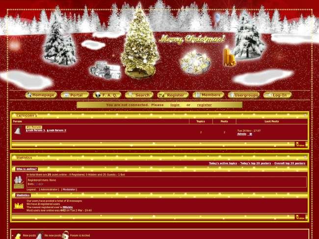 Invision christmas-x en