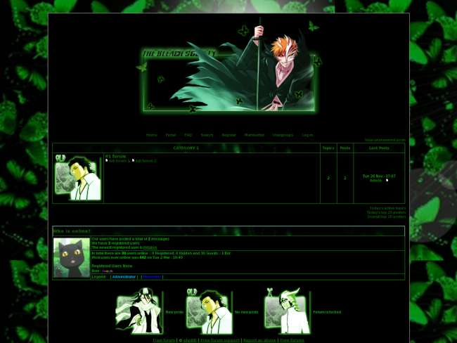 Bleach society 4 green...