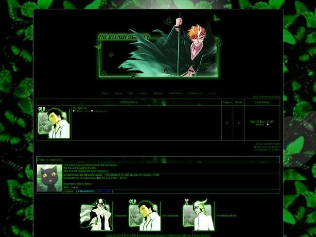 Bleach society 4 green...