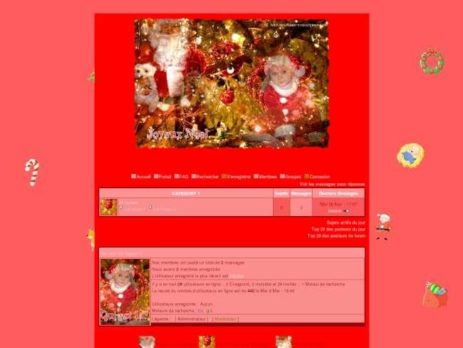 Un Noël en rose