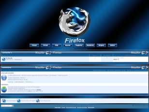 Firefox azul invision