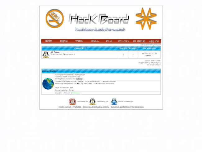 hack board