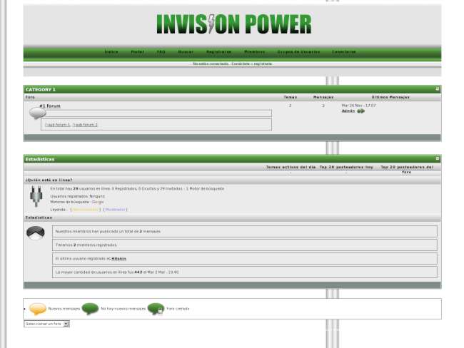 Invision power!