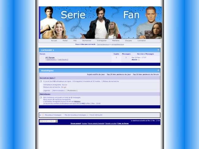 SerieFan Blue
